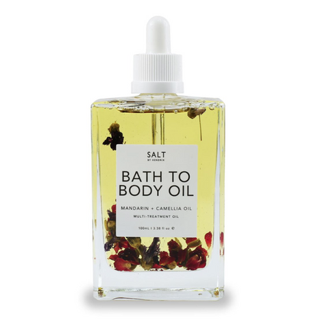 Salt Bath to body oil - Spoil Me Gift Baskets and Gift Hampers