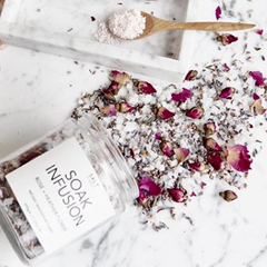 Soak Infusion | Rose + Heather Flower