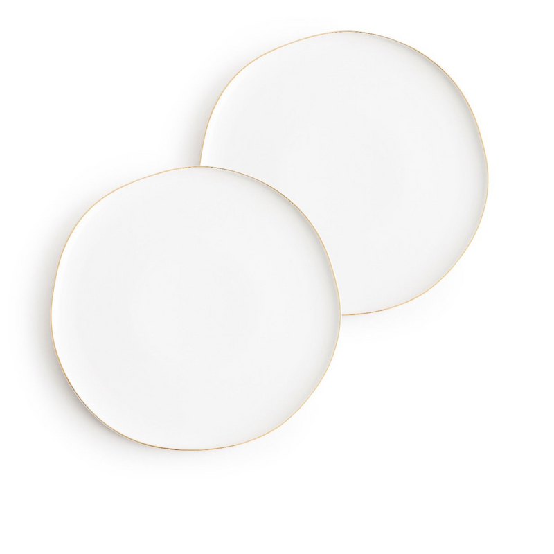 Pacifica Serving Plates x2