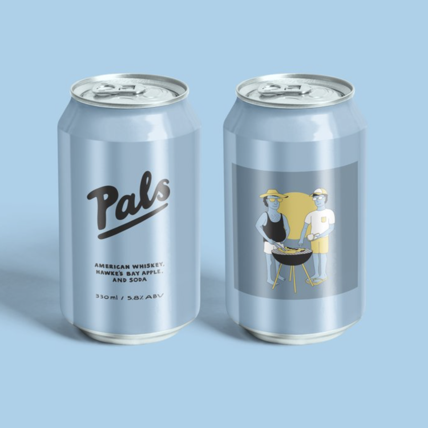 Pals - VAmerican Whiskey, Hawke's Bay Apple & Soda