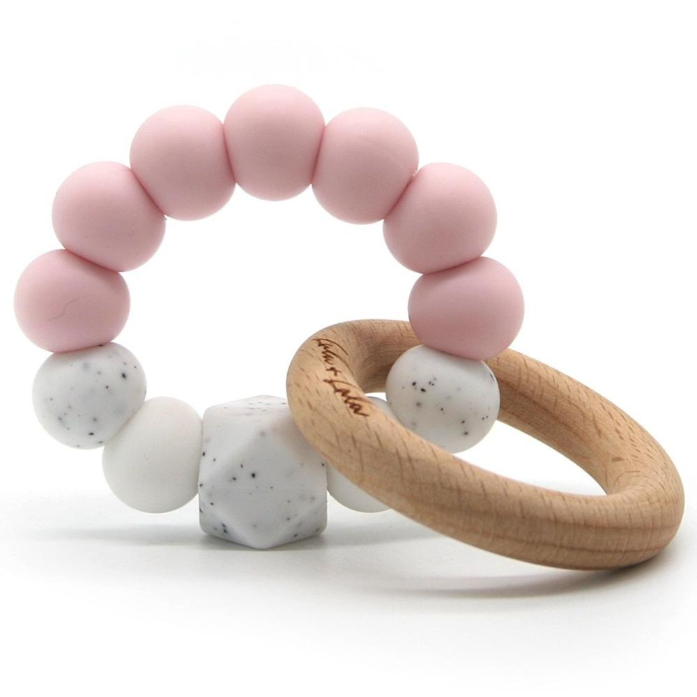 Lulu Lala Teething Toy - Pink
