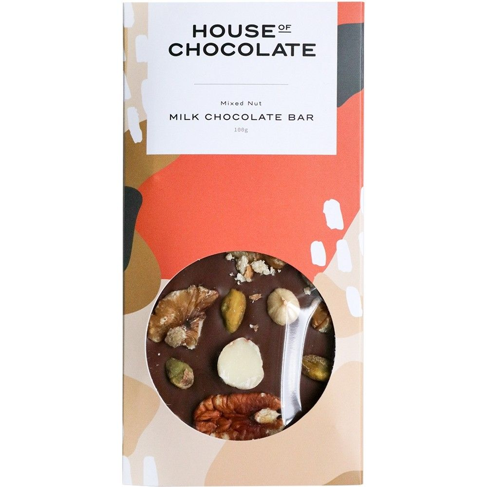 Handmade Chocolate Bar | Mixed Nuts