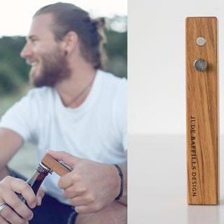 The Rimu & Nail Bottle Opener
