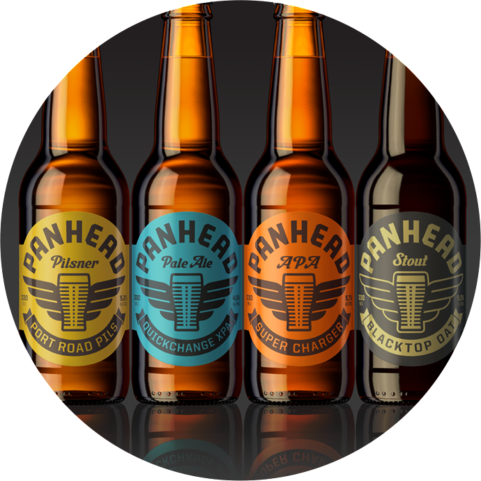 Panhead Beer Selection