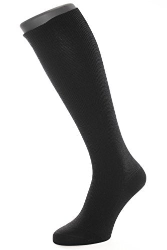 ALBERT KREUZ support socks - compression travel knee-highs - 10,5 mmHg, black EU 47-49 / US 13-14.5