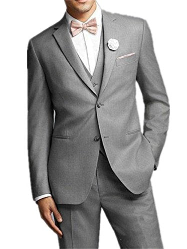 ANY Mens' Suit Notch Lapel 3-piece Wedding Suit Tux (50R)