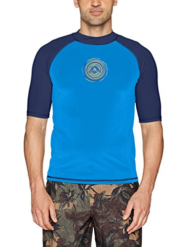 Kanu Surf Men's Sprint Upf 50+ Sun Protective Rashguard Swim Shirt, Royal, XX-Large