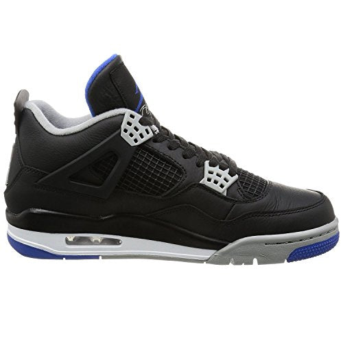 Jordan Retro 4 Alternate Motorsports Black/Game Royal-Matte Silver (10.5 D(M) US)