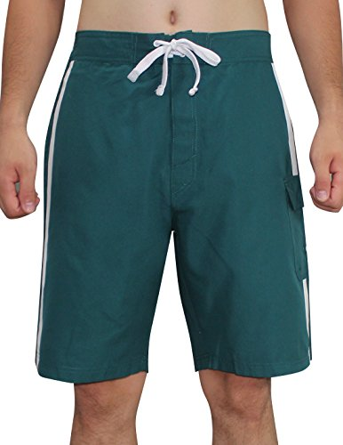 PHI Eagles - Mens Athletic Sports Shorts with Swim Lining M Green
