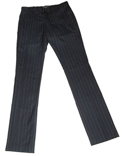 Polo Ralph Lauren RRL Men Wool Pinstripe Black Pants 30
