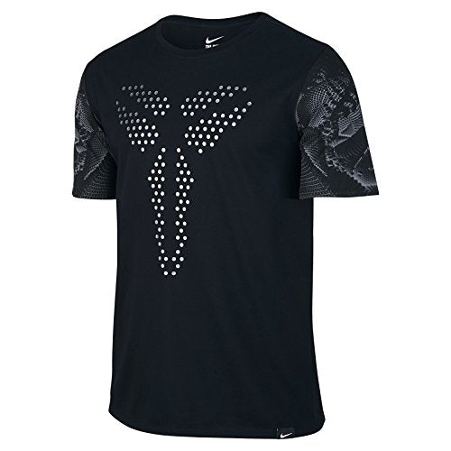 Nike Mens Kobe Stealth Sheath T-Shirt Black/Cool Grey 624314-100 Size Large