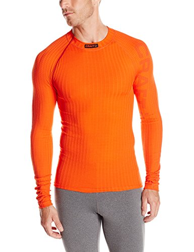 Craft Men's Active Extreme Crewneck Tee, Spice Magma, Small