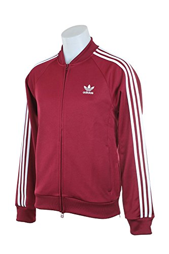 BK3610 MEN SST RELAX TT ADIDAS RED WHITE