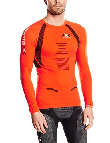 X-Bionic Running Man The Trick LS Base Layer Top Medium Orange