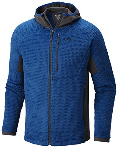 Mountain Hardwear Men's Monkey Man Grid II Hooded Jacket