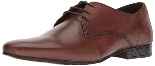 Kenneth Cole REACTION Men's Shop-Ping List Oxford, Cognac, 10 M US