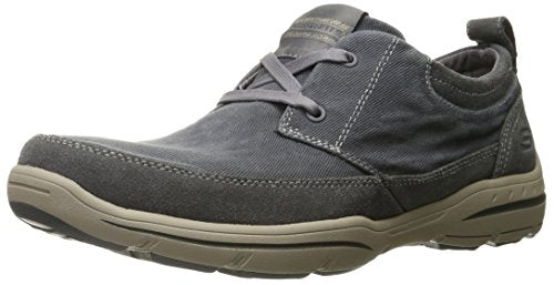 Skechers USA Men's Harper Lenden Oxford, Gray, 12 M US