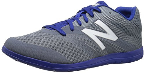 New Balance Men's MX730V2 Training Shoe, Silver/Blue, 9.5 2E US