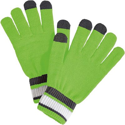 Holloway Sportswear COMEBACK GLOVES Misc OS Lime/White/Graphite