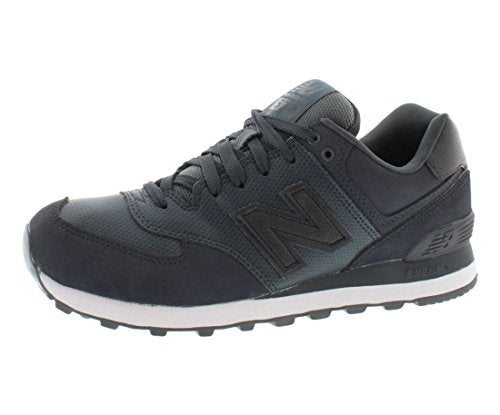 New Balance Men's ML574 Stealth Pack Running Shoe,Dark Grey,12 D US