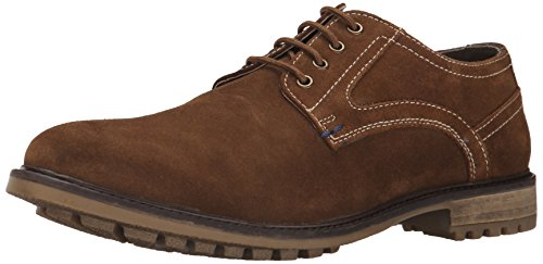 Hush Puppies Men's Rohan Rigby Oxford, Tan Suede, 11.5 M US