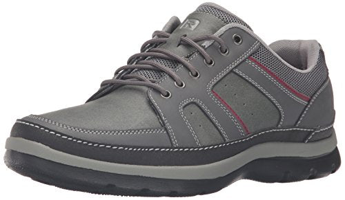 Rockport Men's Get Your Kicks Mudguard Blucher Oxford, Castlerock Grey, 10 W US