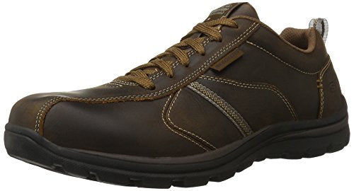 Skechers USA Men's Superior Levoy Oxford, Dark Brown, 12 XW US