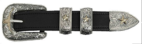 """The Trail Drive"" Sterling Buckle Set"