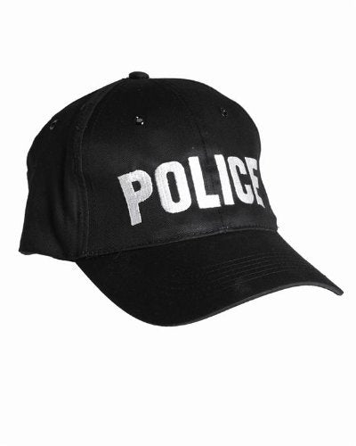 """POLICE"" Black Baseball Cap Tactical Hat Special Agent Security Guard"