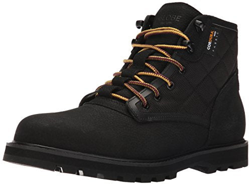 Globe Men's Yes Apres Boot Walking Shoe, Black, 12 Regular US