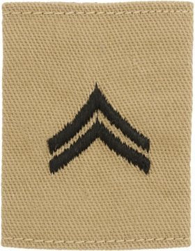 Desert Gortex Loop Rank (Corporal)
