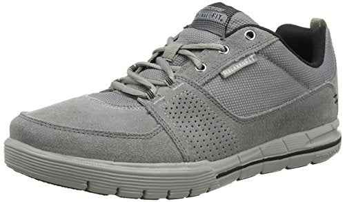 Skechers Sport Mens Arcade Ii Next Move Oxford,Charcoal Black,11