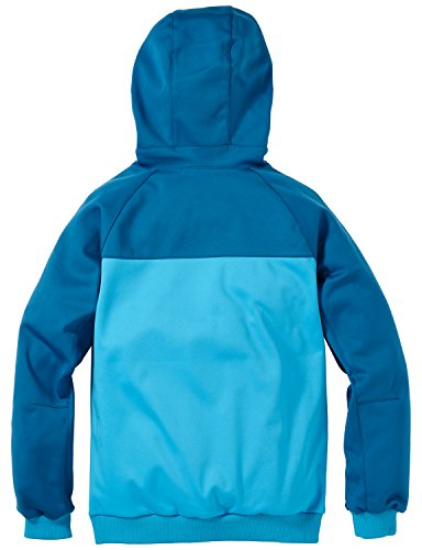 Jack Wolfskin Boy's Stan Soft Shell Jacket, Turquoise, Small (140/146)