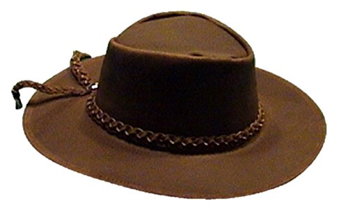 Sharpshooter Clint Eastwood For A Few Dollars More Brown Leather Cowboy Hat
