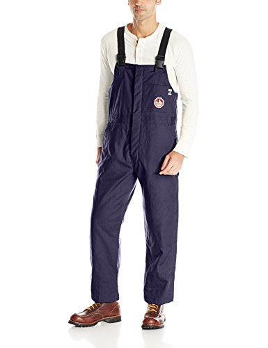 Walls Men's Flame Resistant Insulated Bib, Navy, 2X-Large/Tall