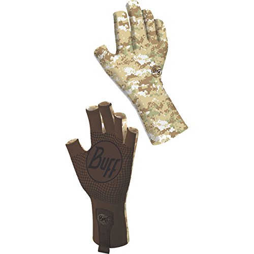 Buff Adult Sport Series Water 2 Small/Medium Pixels Desert Gloves