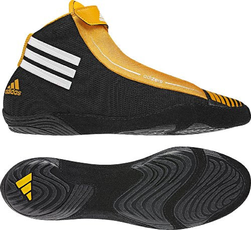 Adidas Wrestling Men's Adizero Sydney Wrestling Shoe,Black/White/Collegiate G...