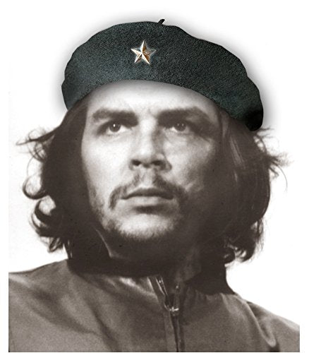 Che Guevara - Black Military Beret w/ metal star