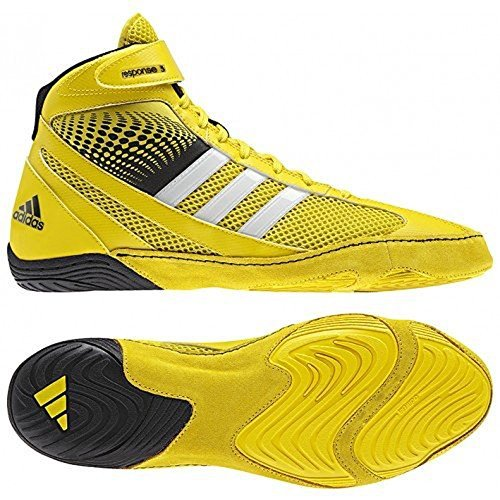 Adidas Response 3.1 Wrestling Shoes bright yellow-white-black [Misc.]