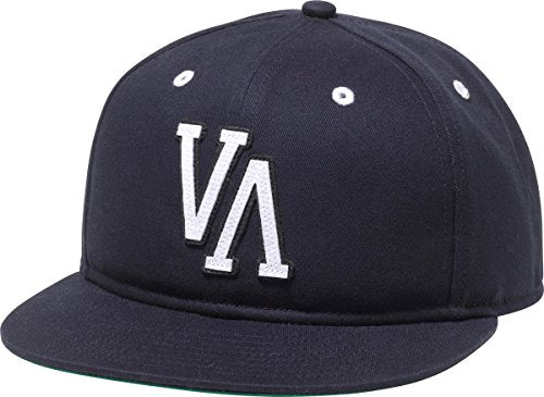 RVCA Men's Themes Six Panel Hat, Navy, One Size