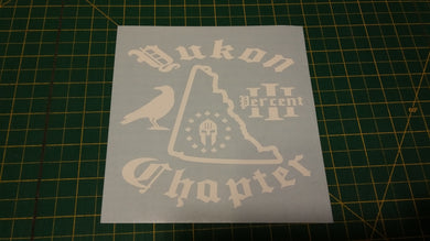Yukon Chapter Map Decal