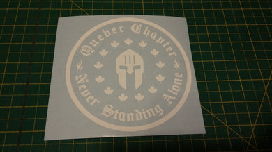 Quebec Chapter Decal