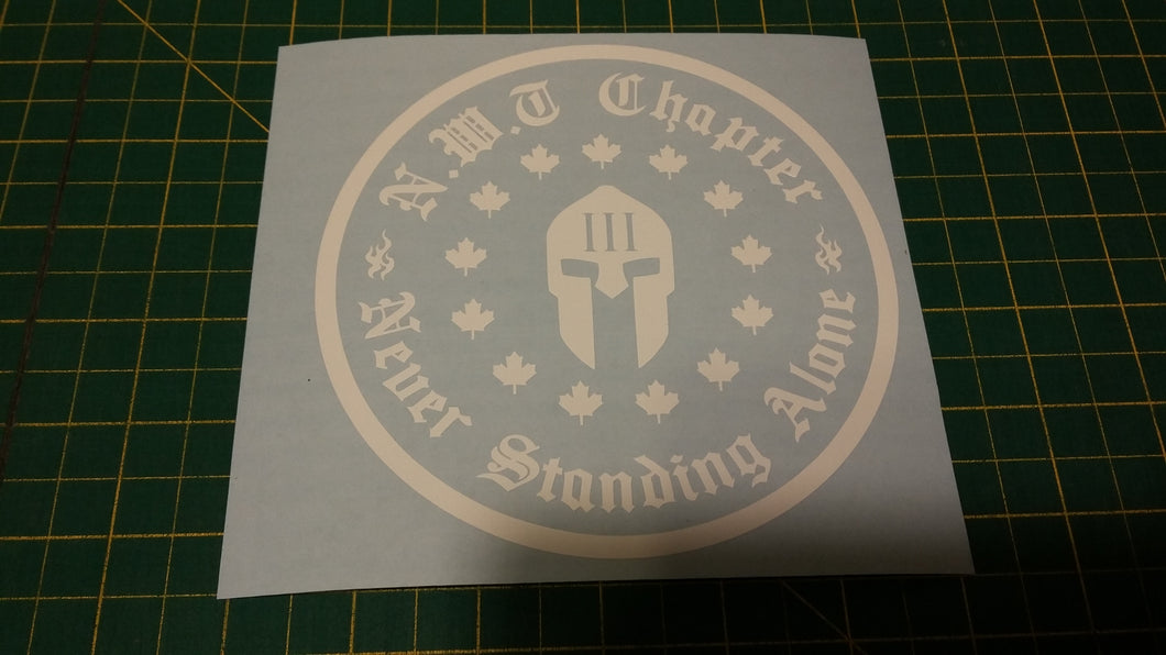 Northwest Territories Chapter Decal