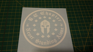 British Columbia Chapter Decal