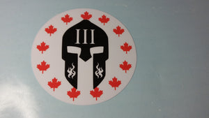 Hard Hat Decal L