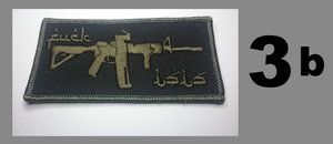 Canadian Flag AR Rifle Patch (F isis)