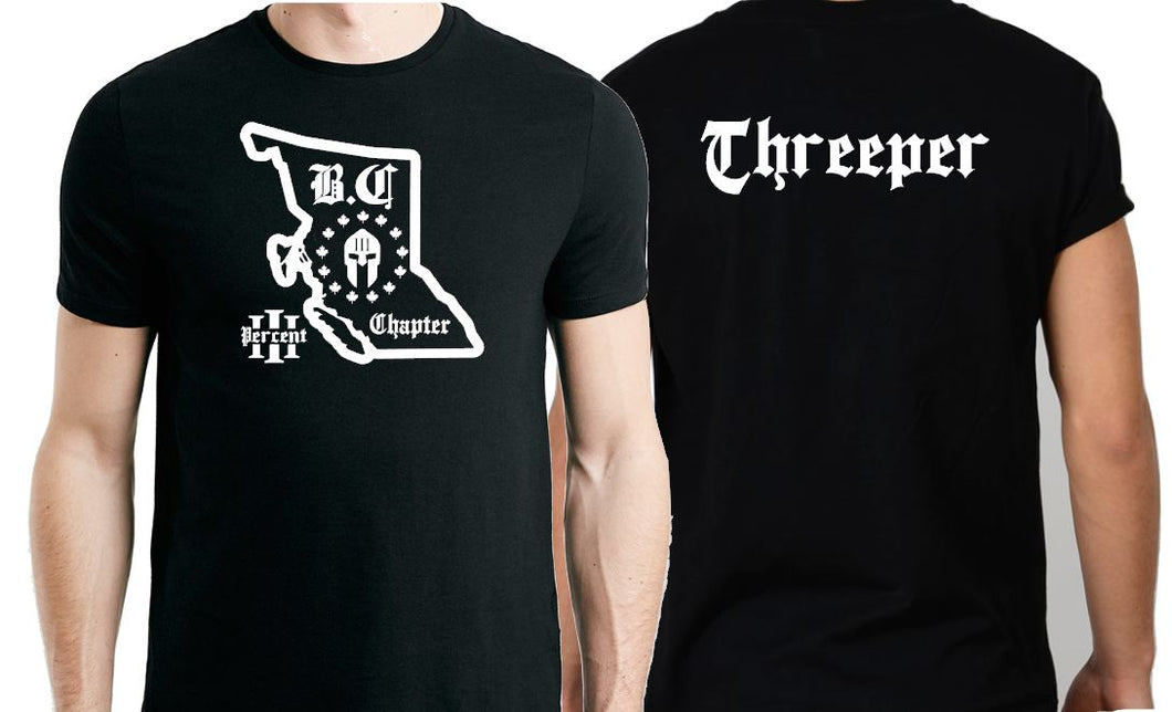 British Colombia Threeper T-Shirt