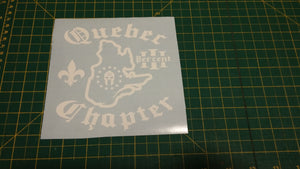 Quebec Chapter Map Decal