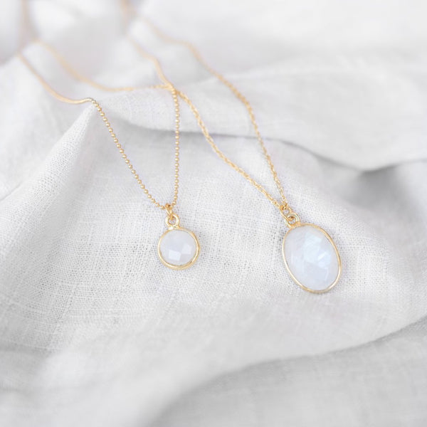 Mare Necklace | Moonstone