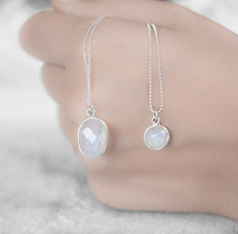 Mare Necklace | Moonstone - Lia Lubiana